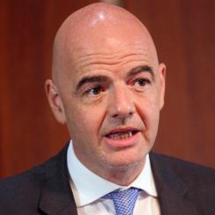 FIFA president Gianni Infantino will make $1.5 million in 2016