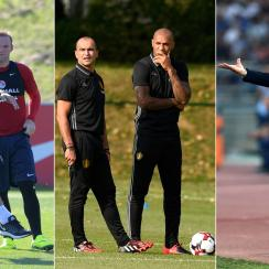 England, Belgium and Italy all have new national team managers