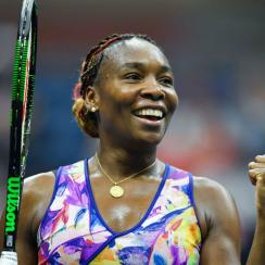 venus williams us open results scores