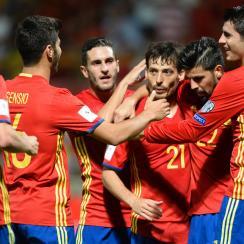 Spain routs Liechtenstein 8-0 in World Cup qualifying