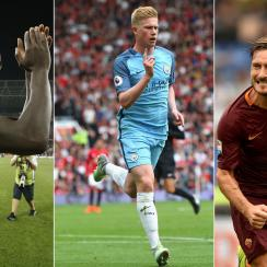 Mario Balotelli, Kevin De Bruyne, Francesco Totti star for their clubs around Europe this weekend