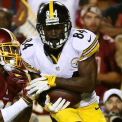 Antonio Brown, wide receivers shine in Week 1