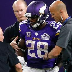 Fantasy football Week 3 advice: Adrian Peterson injury, running backs on waiver wire