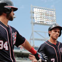 Bryce Harper and Trea Turner, Washington Nationals
