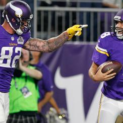 NFL odds Week 3: Betting lines, spreads, matchups for Vikings vs. Panthers, Giants vs. Redskins