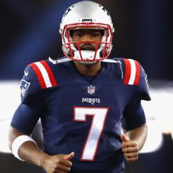 jacoby brissett patriots touchdown run