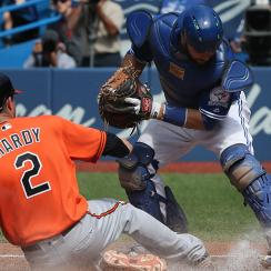 J.J. Hardy, Baltimore Orioles and Russell Martin, Toronto Blue Jays