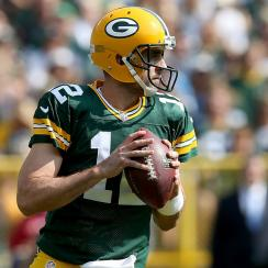 aaron rodgers packers lions