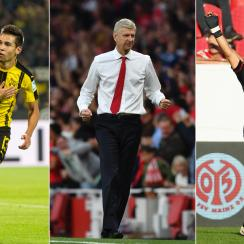 Raphael Guerreiro, Arsene Wenger and Chicharito were the newsmakers around Europe this weekend