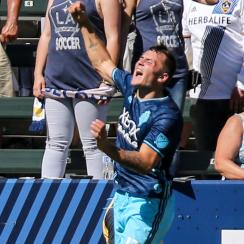 Jordan Morris scores key goals for the Seattle Sounders in a win over the LA Galaxy