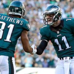 City of Philadelphia revels in Carson Wentz's early success