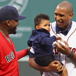 Al Horford and David Ortiz