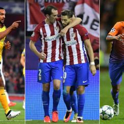 Theo Walcott, Yannick Carrasco, Raheem Sterling all star in the Champions League