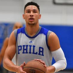 ben simmons foot fracture injury 76ers