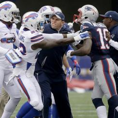 patriots bills malcolm mitchell robert blanton scuffle video
