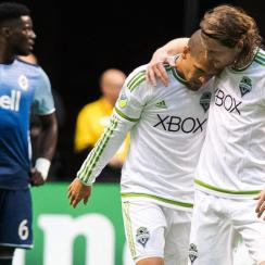 The Seattle Sounders are on a roll heading toward the MLS playoffs