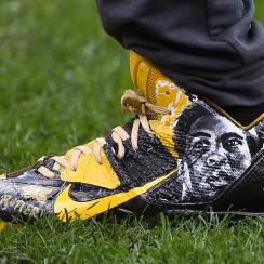 antonio brown muhammad ali cleats threat
