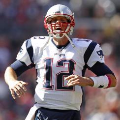 patriots tom brady return first touchdown video