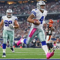 Dak Prescott  Tony Romo injury return shouldn t force Cowboys to sit  rookie. NFL a97cc09fc