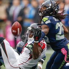 Falcons vs. Seahawks: Richard Sherman pass interference non-call sinks Julio Jones