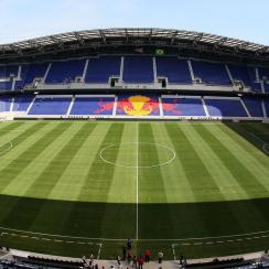 Red Bull Arena in Harrison, New Jersey, home of the New York Red Bulls