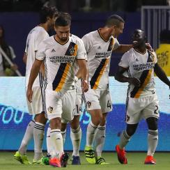 Ema Boateng starred for the LA Galaxy against Real Salt Lake in the MLS playoffs