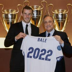 Gareth Bale is signed through 2022 with Real Madrid