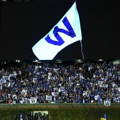 Chicago Cubs Wrigley Field W flag