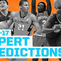 College basketball expert predictions