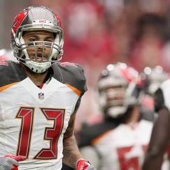 mike evans protests donald trump