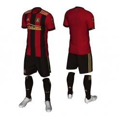 Atlanta United FC unveils its primary uniform for its inaugural MLS season