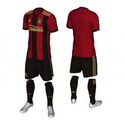 Atlanta United FC unveils its primary uniform for its inaugural MLS season