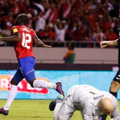 Costa Rica destroys USA 4-0 in World Cup qualifying