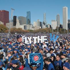 Chicago Cubs World Series celebration