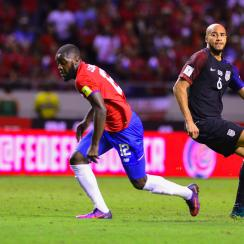 John Brooks loses Joel Campbell in the USA's loss to Costa Rica