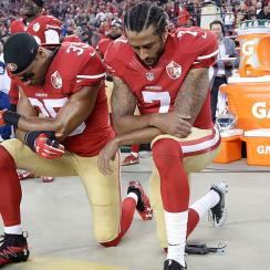 Eric Reid and Colin Kaepernick, San Francisco 49ers