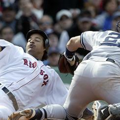 Manny Ramirez, Boston Red Sox; Jorge Posada, New York Yankees