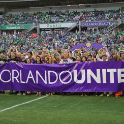 Orlando City SC Pulse tribute