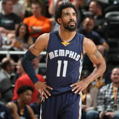 Losing Mike Conley Takes Floor Out Of The Grizzlies