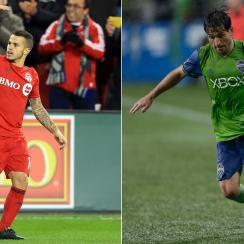 Sebastian Giovinco and Nicolas Lodeiro will star in the MLS Cup final for Toronto FC and Seattle Sounders