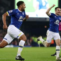Everton beats Arsenal in the Premier League
