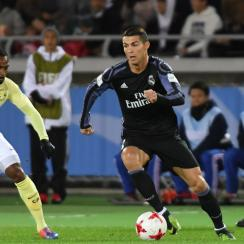 Cristiano Ronaldo scores for Real Madrid vs Club America in the Club World Cup