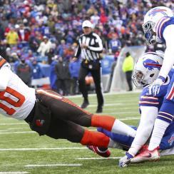 Browns-Bills: Robert Griffin III touchdown run (video)