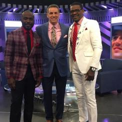 Craig Sager: NFL Network crew wears loud suits