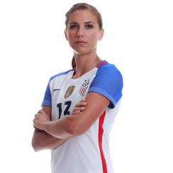 Alex Morgan will be leaving Orlando for six months to play for Lyon