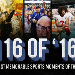 Best sports moments 2016: Top games, highlights, events