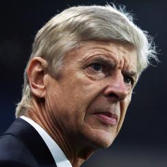 Arsenal manager Arsene Wenger remains under pressure at the Emirates