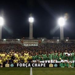 Neymar and Robinho host a charity match to pay tribute to Chapecoense