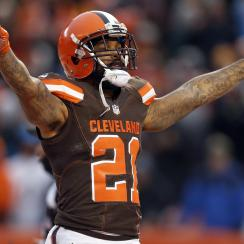 Cleveland Browns win first game
