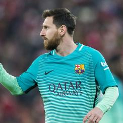 Lionel Messi scored in Barcelona's Copa del Rey meeting with Athletic Club.